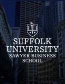 Suffolk University Sawyer Business School Online Programs Brochure